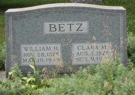 BETZ, WILLIAM H - Columbiana County, Ohio | WILLIAM H BETZ - Ohio Gravestone Photos