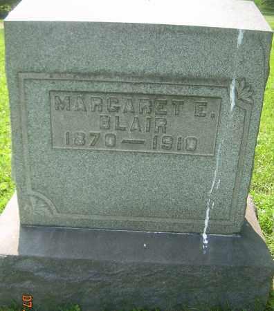 BLAIR, MARGARET E - Columbiana County, Ohio   MARGARET E BLAIR - Ohio Gravestone Photos