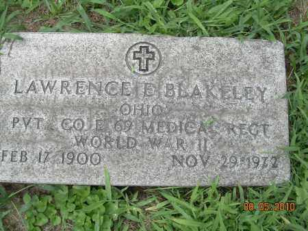 BLAKELEY, LAWRENCE E - Columbiana County, Ohio | LAWRENCE E BLAKELEY - Ohio Gravestone Photos