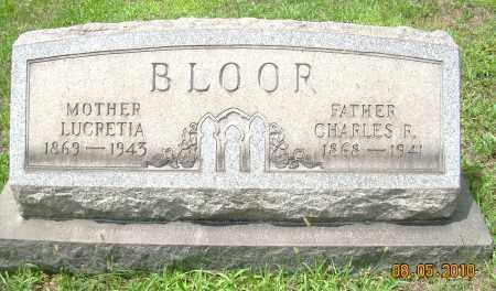 BLOOR, CHARLES R - Columbiana County, Ohio | CHARLES R BLOOR - Ohio Gravestone Photos