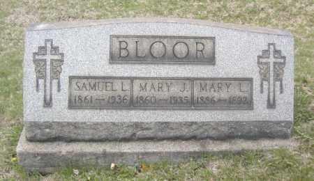 BLOOR, MARY J. - Columbiana County, Ohio | MARY J. BLOOR - Ohio Gravestone Photos