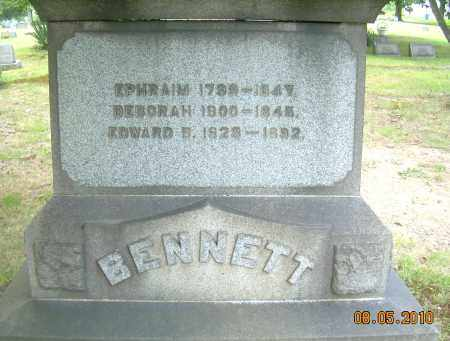 BENNETT, EPHRAIM - Columbiana County, Ohio   EPHRAIM BENNETT - Ohio Gravestone Photos