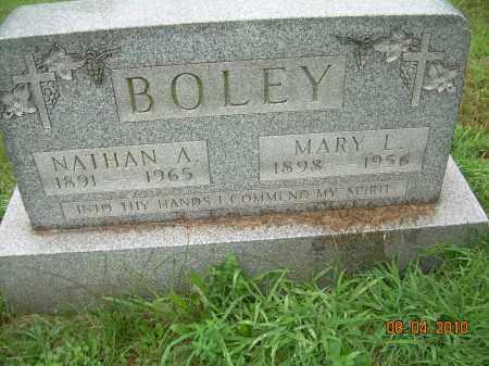 JUDY BOLEY, MARY L - Columbiana County, Ohio | MARY L JUDY BOLEY - Ohio Gravestone Photos
