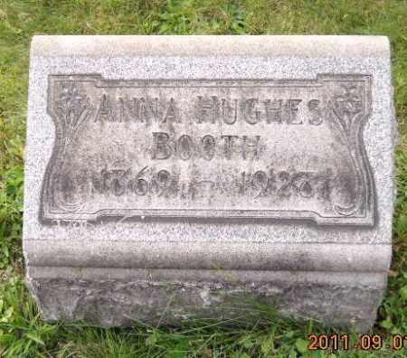 HUGHES BOOTH, ANNA - Columbiana County, Ohio | ANNA HUGHES BOOTH - Ohio Gravestone Photos