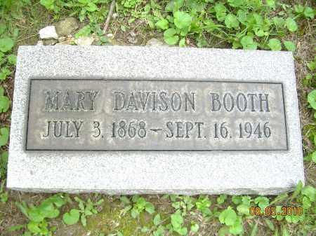 BOOTH, MARY - Columbiana County, Ohio | MARY BOOTH - Ohio Gravestone Photos