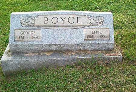 BOYCE, EFFIE - Columbiana County, Ohio | EFFIE BOYCE - Ohio Gravestone Photos
