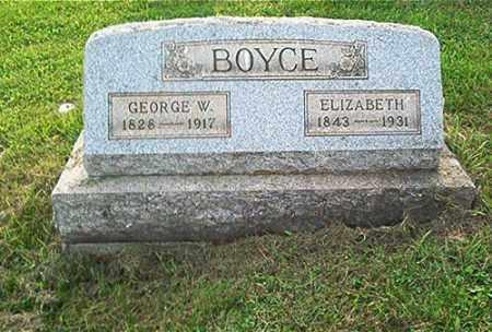 BOYCE, ELIZABETH - Columbiana County, Ohio   ELIZABETH BOYCE - Ohio Gravestone Photos