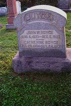 BOYCE, CATHERINE - Columbiana County, Ohio   CATHERINE BOYCE - Ohio Gravestone Photos