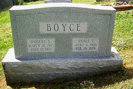 BOYCE, ROMA V. - Columbiana County, Ohio | ROMA V. BOYCE - Ohio Gravestone Photos