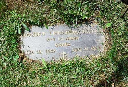 BOYCE, ROBERT LINDBERG - Columbiana County, Ohio | ROBERT LINDBERG BOYCE - Ohio Gravestone Photos
