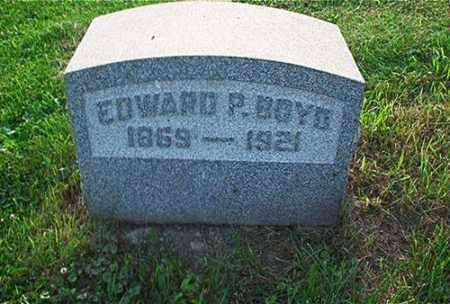 BOYD, EDWARD P. - Columbiana County, Ohio | EDWARD P. BOYD - Ohio Gravestone Photos