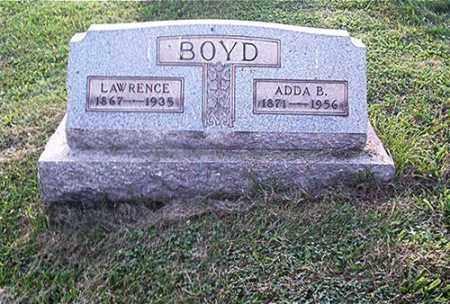 BOYD, ADDA B. - Columbiana County, Ohio | ADDA B. BOYD - Ohio Gravestone Photos