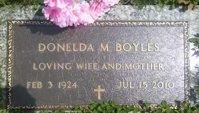 KIEHL BOYLES, DONELDA - Columbiana County, Ohio | DONELDA KIEHL BOYLES - Ohio Gravestone Photos
