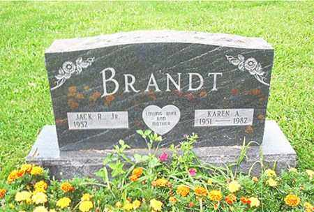 BRANDT, KAREN A. - Columbiana County, Ohio | KAREN A. BRANDT - Ohio Gravestone Photos
