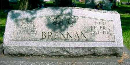 MCGOOGAN BRENNAN, ANN B. - Columbiana County, Ohio | ANN B. MCGOOGAN BRENNAN - Ohio Gravestone Photos