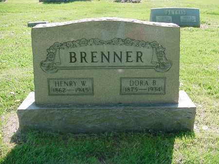 BRENNER, DORA - Columbiana County, Ohio | DORA BRENNER - Ohio Gravestone Photos