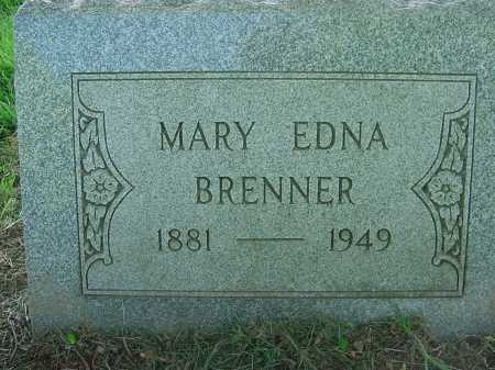BRENNER, MARY EDNA - Columbiana County, Ohio | MARY EDNA BRENNER - Ohio Gravestone Photos