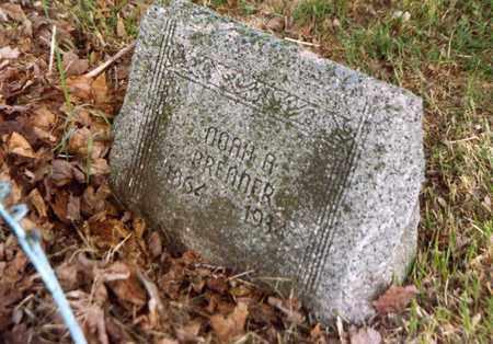 BRENNER, NOAH - Columbiana County, Ohio   NOAH BRENNER - Ohio Gravestone Photos