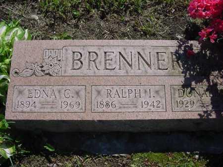 BRENNER, RALPH ISAAC - Columbiana County, Ohio | RALPH ISAAC BRENNER - Ohio Gravestone Photos