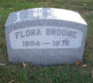 BROOME, FLORA - Columbiana County, Ohio | FLORA BROOME - Ohio Gravestone Photos