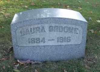 BROOME, LAURA - Columbiana County, Ohio | LAURA BROOME - Ohio Gravestone Photos
