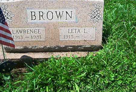 STEPHENSON BROWN, LETA L. - Columbiana County, Ohio | LETA L. STEPHENSON BROWN - Ohio Gravestone Photos