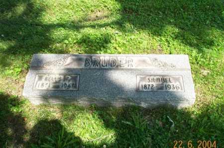 BRUDER, SAMUEL - Columbiana County, Ohio | SAMUEL BRUDER - Ohio Gravestone Photos