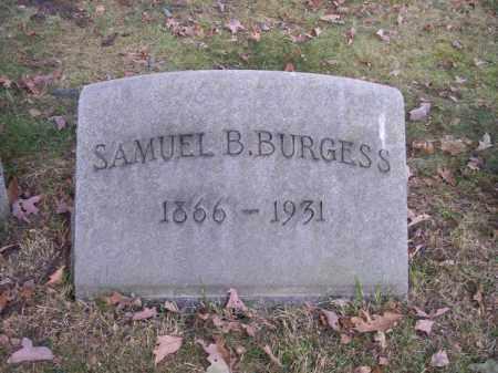 BURGESS, SAMUEL B. - Columbiana County, Ohio   SAMUEL B. BURGESS - Ohio Gravestone Photos