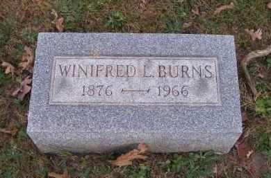 BURNS, WINIFRED L. - Columbiana County, Ohio | WINIFRED L. BURNS - Ohio Gravestone Photos