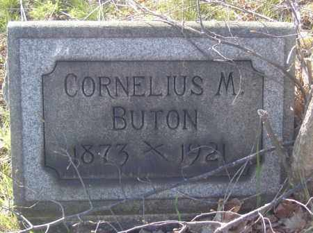 BUTON, CORNELIUS M. - Columbiana County, Ohio   CORNELIUS M. BUTON - Ohio Gravestone Photos