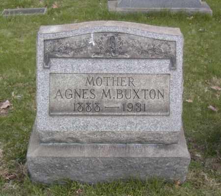BUXTON, AGNES M. - Columbiana County, Ohio   AGNES M. BUXTON - Ohio Gravestone Photos