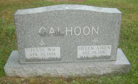 AIKEN CALHOON, HELEN - Columbiana County, Ohio | HELEN AIKEN CALHOON - Ohio Gravestone Photos