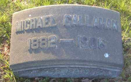CALLAHAN, MICHAEL - Columbiana County, Ohio | MICHAEL CALLAHAN - Ohio Gravestone Photos