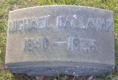 CALLAHAN, MICHAEL - Columbiana County, Ohio | MICHAEL CALLAHAN - Ohio Gravestone Photos