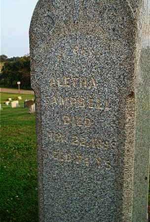 CAMPBELL, ALETHA - Columbiana County, Ohio | ALETHA CAMPBELL - Ohio Gravestone Photos
