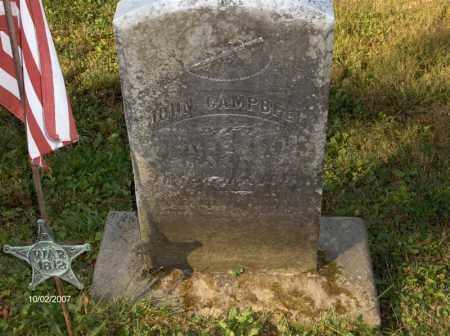 CAMPBELL, JOHN - Columbiana County, Ohio | JOHN CAMPBELL - Ohio Gravestone Photos