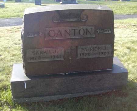 CANTON, SARAH J. - Columbiana County, Ohio   SARAH J. CANTON - Ohio Gravestone Photos