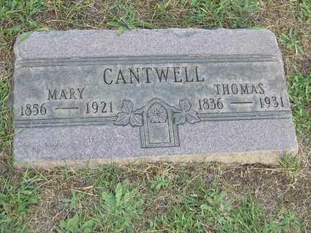 CANTWELL, THOMAS - Columbiana County, Ohio | THOMAS CANTWELL - Ohio Gravestone Photos