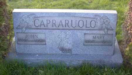 CAPRARUOLO, MARY - Columbiana County, Ohio | MARY CAPRARUOLO - Ohio Gravestone Photos