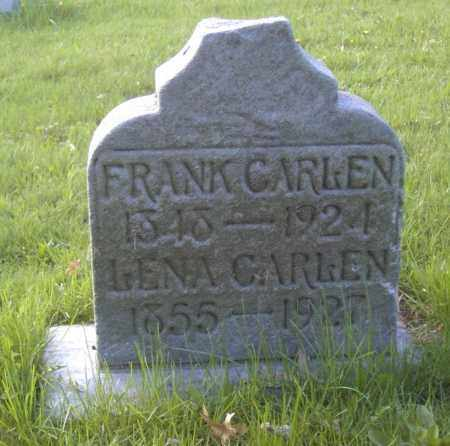 CARLEN, LENA - Columbiana County, Ohio | LENA CARLEN - Ohio Gravestone Photos