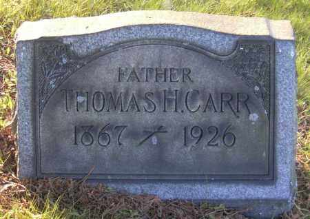 CARR, THOMAS H. - Columbiana County, Ohio | THOMAS H. CARR - Ohio Gravestone Photos