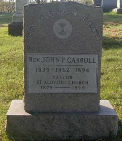 CARROLL, JOHN P. - Columbiana County, Ohio | JOHN P. CARROLL - Ohio Gravestone Photos