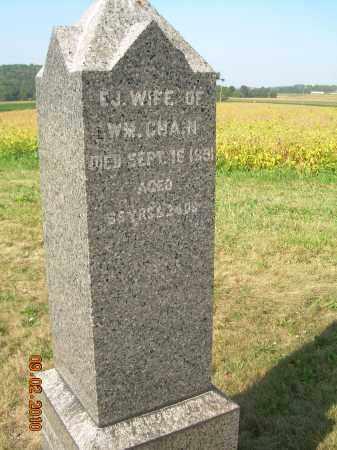 CHAIN, ELIZABETH JANE - Columbiana County, Ohio   ELIZABETH JANE CHAIN - Ohio Gravestone Photos