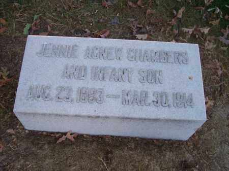 CHAMBERS, JENNIE - Columbiana County, Ohio | JENNIE CHAMBERS - Ohio Gravestone Photos