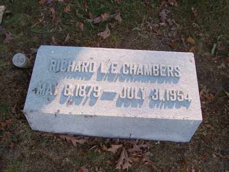 CHAMBERS, RICHARD L. E. - Columbiana County, Ohio | RICHARD L. E. CHAMBERS - Ohio Gravestone Photos