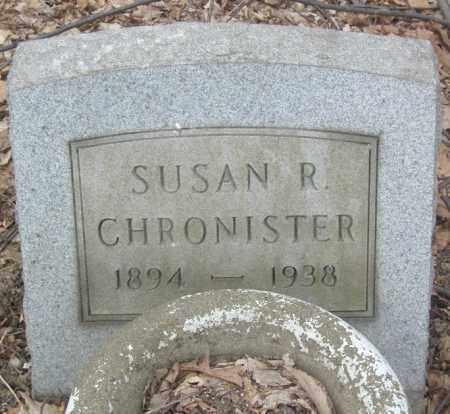 CHRONISTER, SUSAN R. - Columbiana County, Ohio | SUSAN R. CHRONISTER - Ohio Gravestone Photos