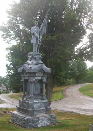 CIVIL WAR, MONUMENT - Columbiana County, Ohio | MONUMENT CIVIL WAR - Ohio Gravestone Photos