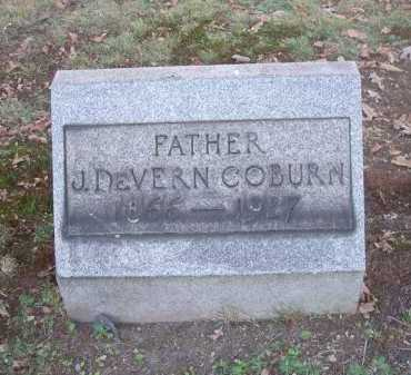 COBURN, J. DEVERN - Columbiana County, Ohio   J. DEVERN COBURN - Ohio Gravestone Photos
