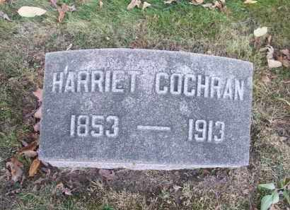 COCHRAN, HARRIET - Columbiana County, Ohio | HARRIET COCHRAN - Ohio Gravestone Photos
