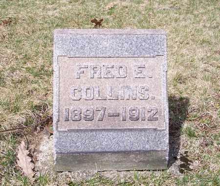 COLLINS, FRED E. - Columbiana County, Ohio | FRED E. COLLINS - Ohio Gravestone Photos